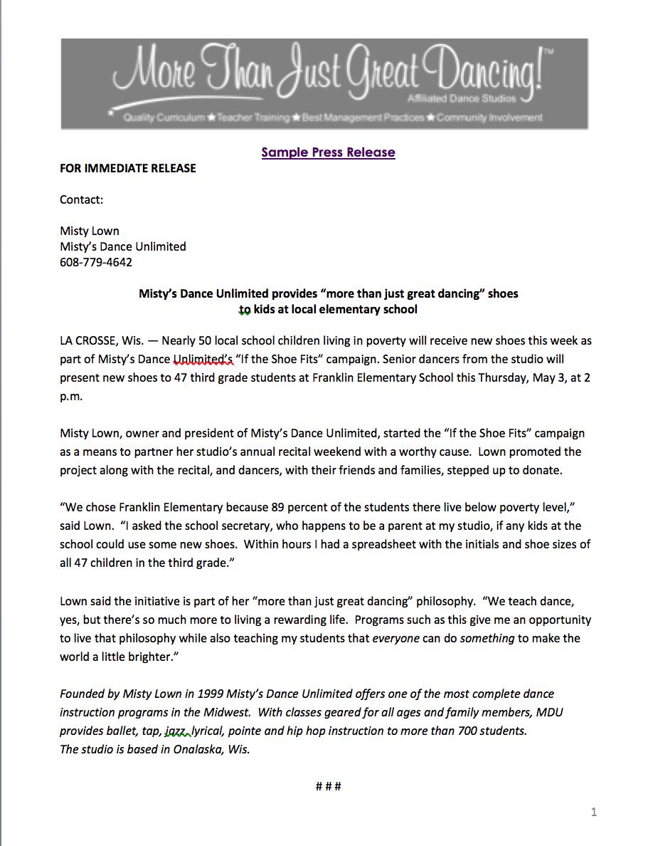 mtjgd sample press release 2